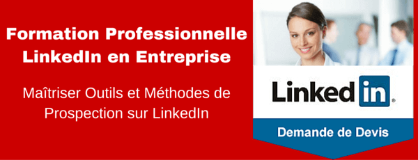 formation linkedin equipe commerciale