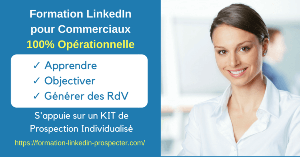 Formation LinkedIn pour la prospection