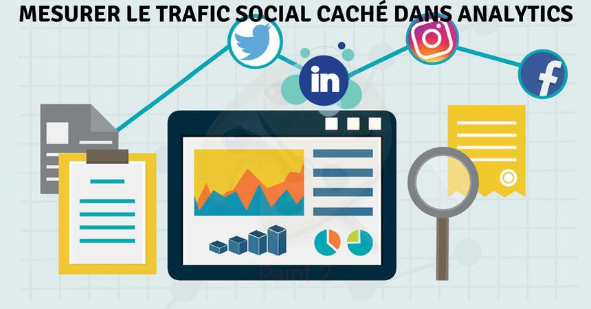comment mesurer le trafic social cache dans google analytics