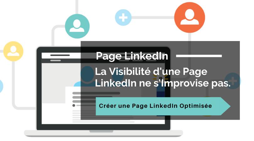 optimiser la page entreprise linkedin